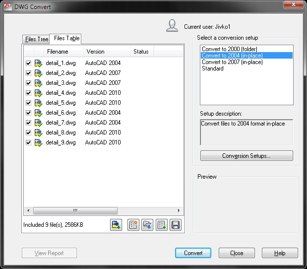 autocad_convert_files_table