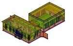 Проекции и разрези от 3D модел в AutoCAD 2013