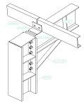 AutoCAD Structural Detailing - чертеж на детайл на стоманена конструкция