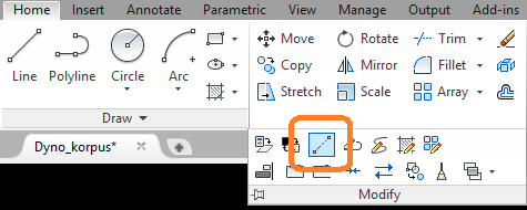autocad-draw-arc-with-given-length-lengthen