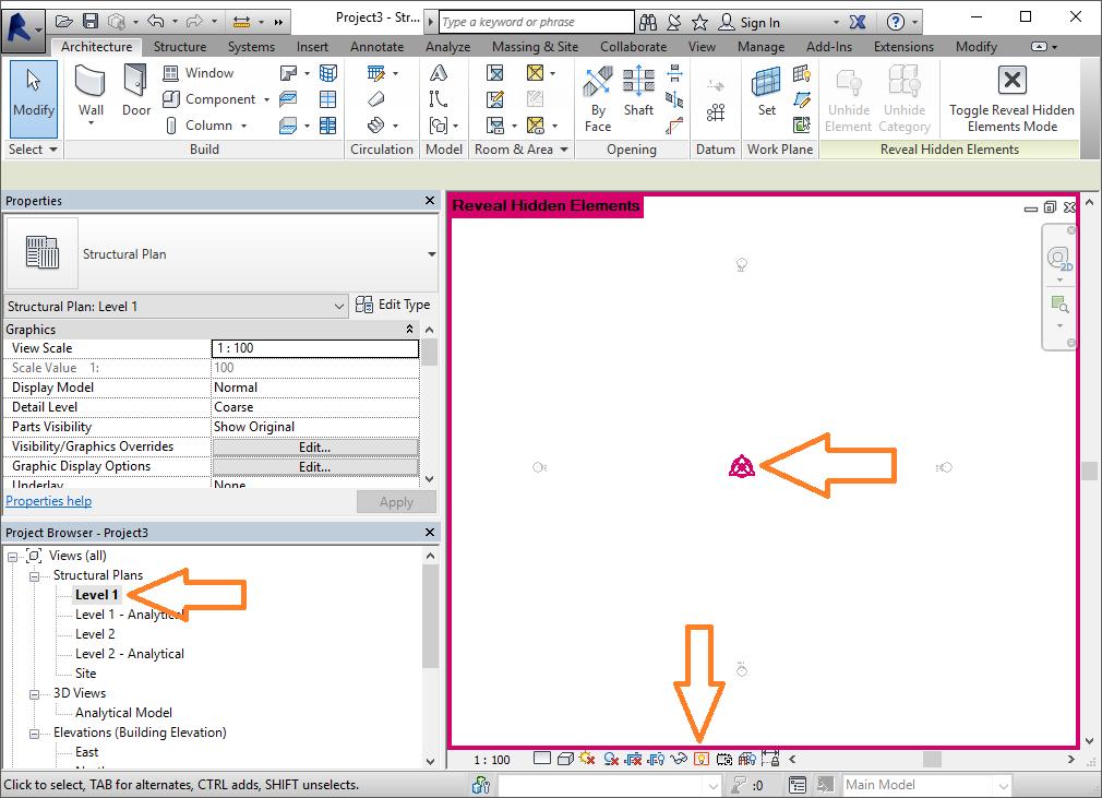 Spot Elevation Plan Revit : Относителни и абсолютни коти в revit cad point конструкции
