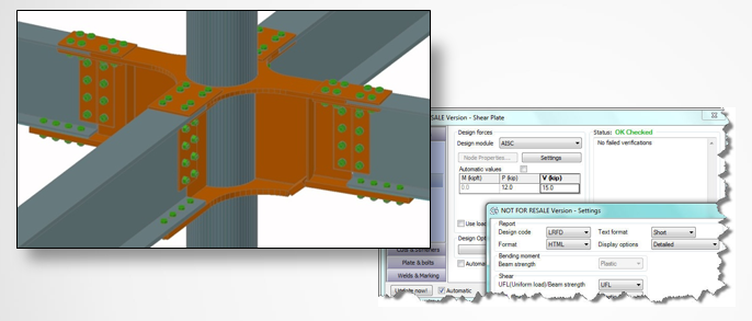 Advance-Steel-built-in-model-validation