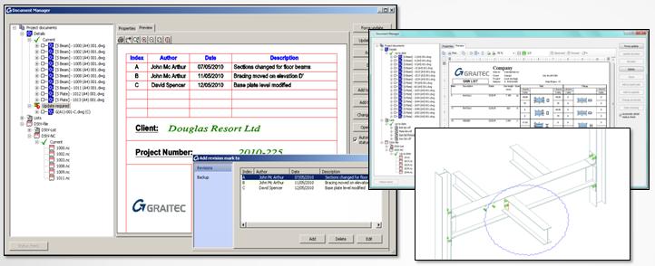 Advance-Steel-document-management-system